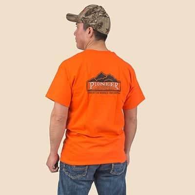 Pioneer Gear Orange Unisex T-shirt