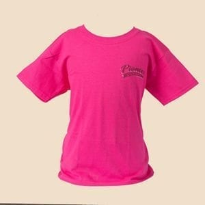 Pioneer Gear Pink KIds T-shirt Children's shield t-shirt