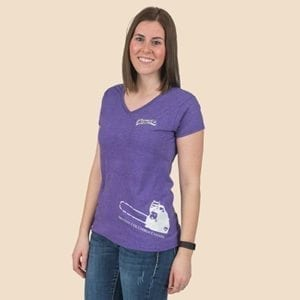 Pioneer Gear Ladies Chainsaw T-shirt