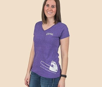 Pioneer Gear Ladies Chainsaw T-shirt