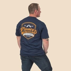 Pioneer Gear Shield T-shirt