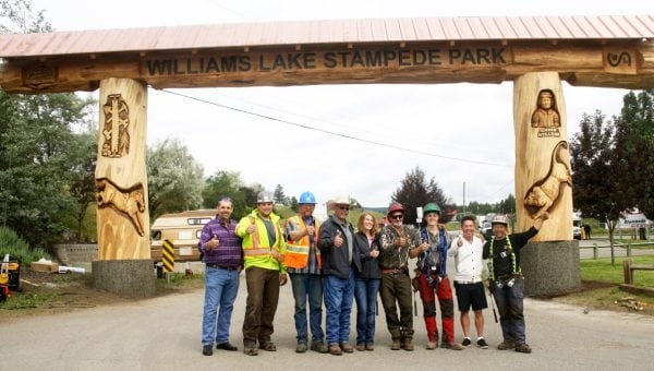 Williams Lake Stampede Archway