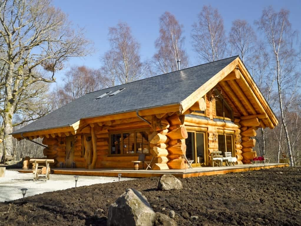 Aurora Homes For Sale >> Caledonian Cabins – Invergarry, UK | Pioneer Log Homes of BC