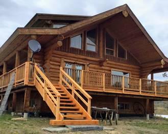 Pioneer Log Homes for Sale   Luxury Log Cabin Homes For Sale