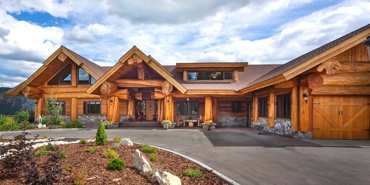 pioneer log homes of bc handcrafted custom log cabins and log homes. Black Bedroom Furniture Sets. Home Design Ideas